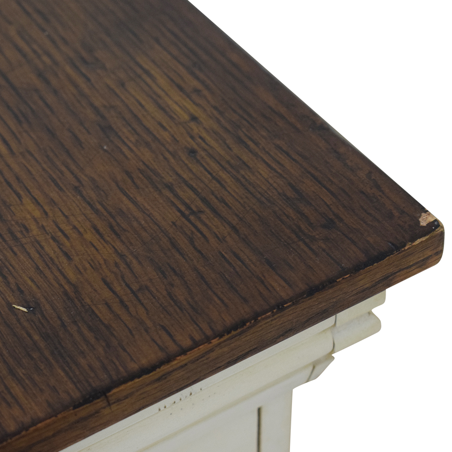 buy Pottery Barn Pottery Barn Wood Top White Buffet online