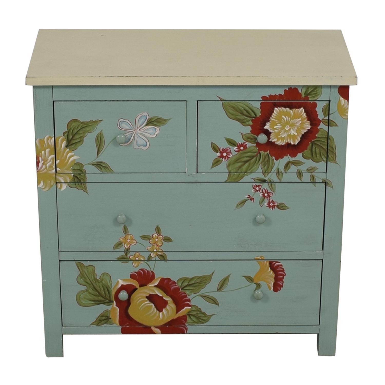 Sterling Industries Sterling Industries Custom Four Drawer Painted Wood Dresser nj