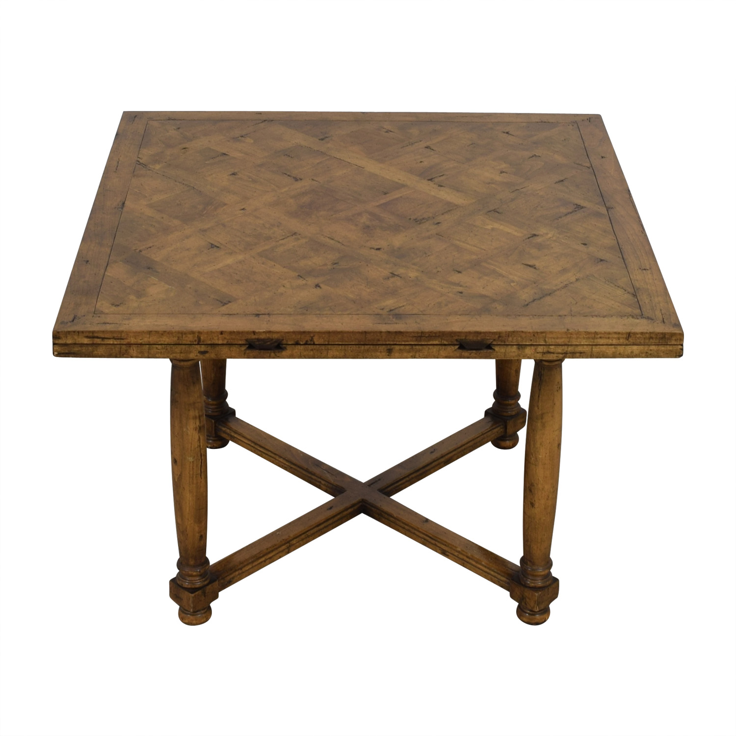 shop Chaddock Chaddock Morley Extendable Square to Round Dining Table online