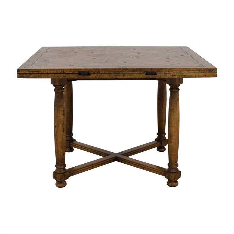 shop Chaddock Morley Extendable Square to Round Dining Table Chaddock