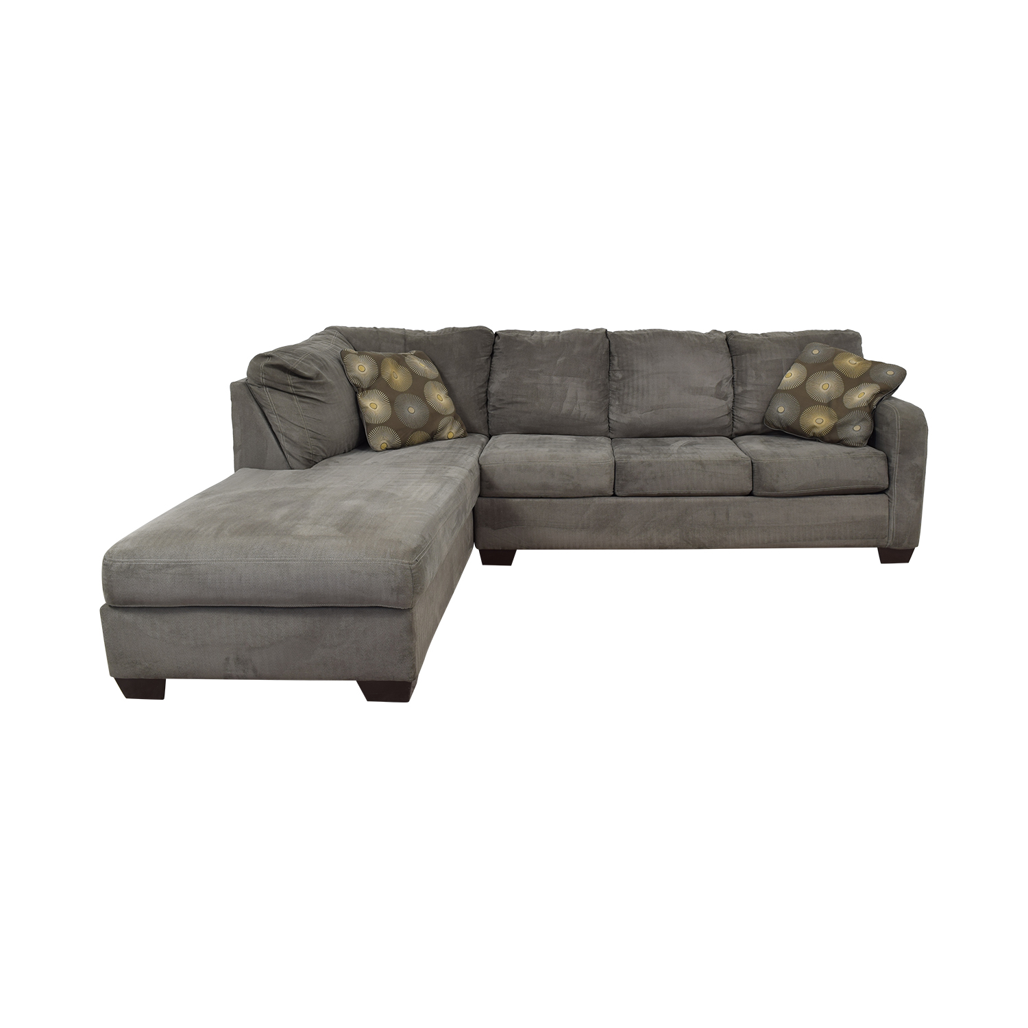 Ashley Furniture Ashley Furniture Gray Sectional discount
