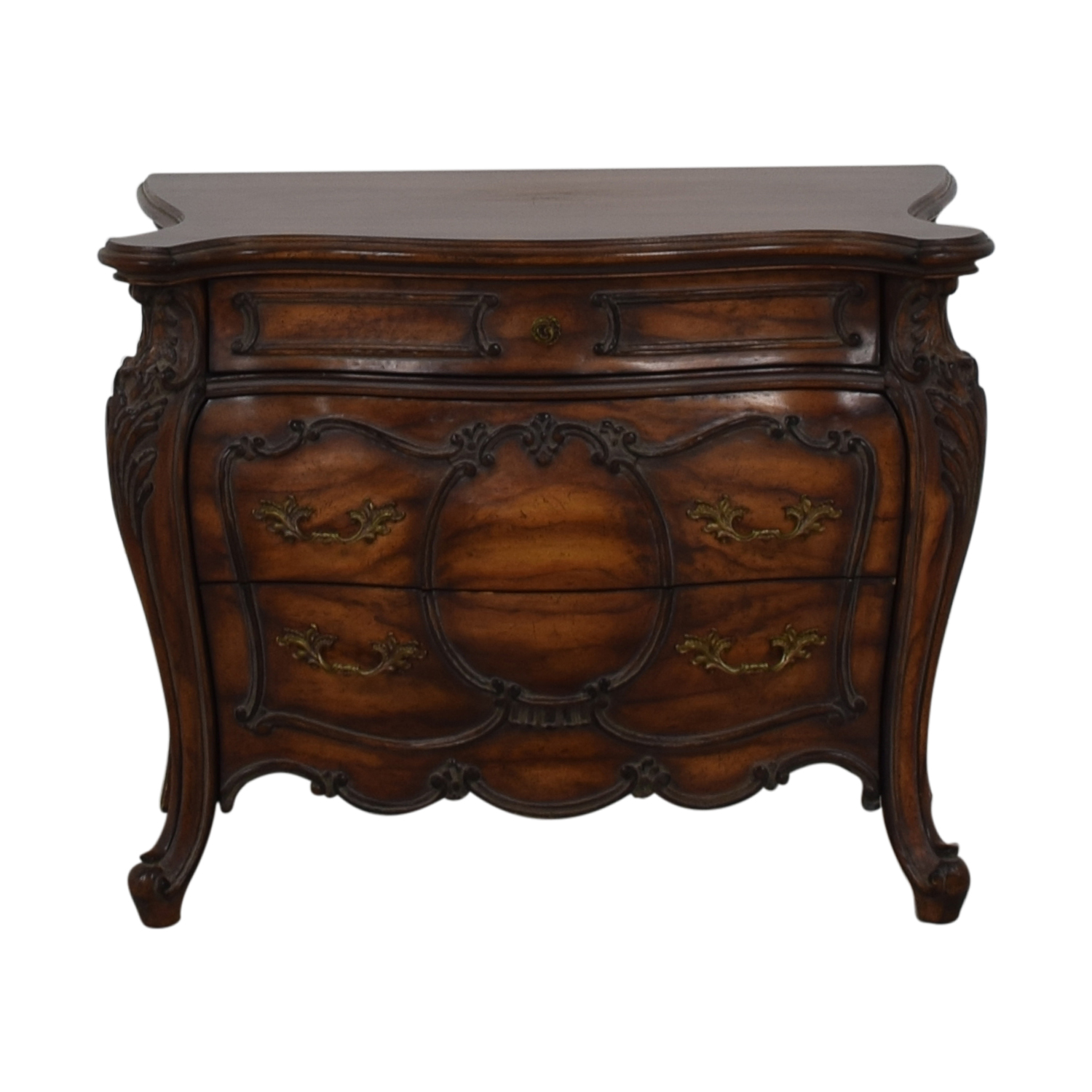 French Bombay Three Drawer Chest / Tables ...