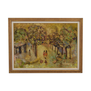 buy Bianca French Park Scene Oil Painting