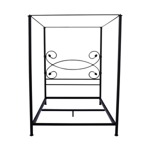 buy Charles P. Rogers Charles P. Rogers Iron Queen Canopy Bed Frame online