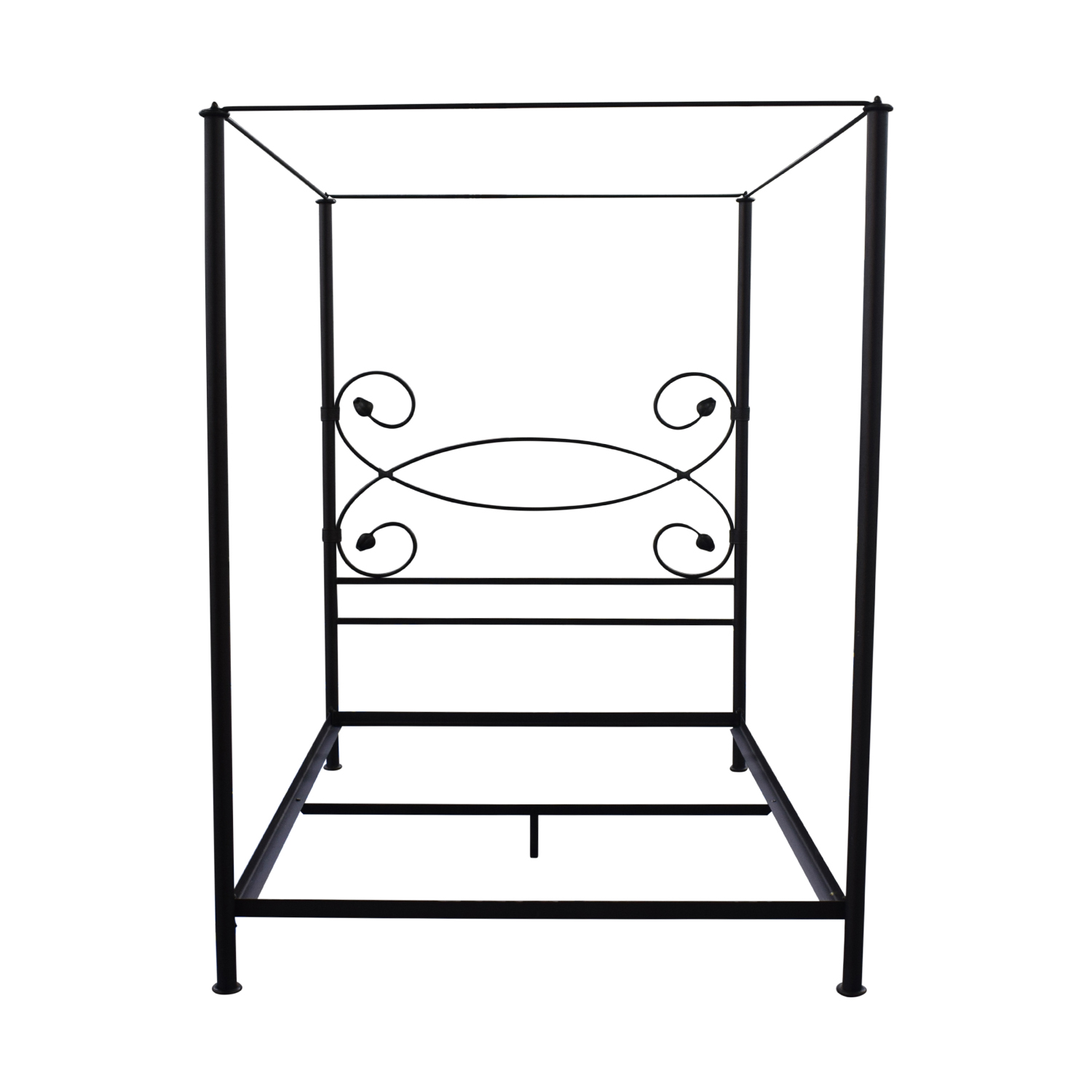 buy Charles P. Rogers Iron Queen Canopy Bed Frame Charles P. Rogers Beds