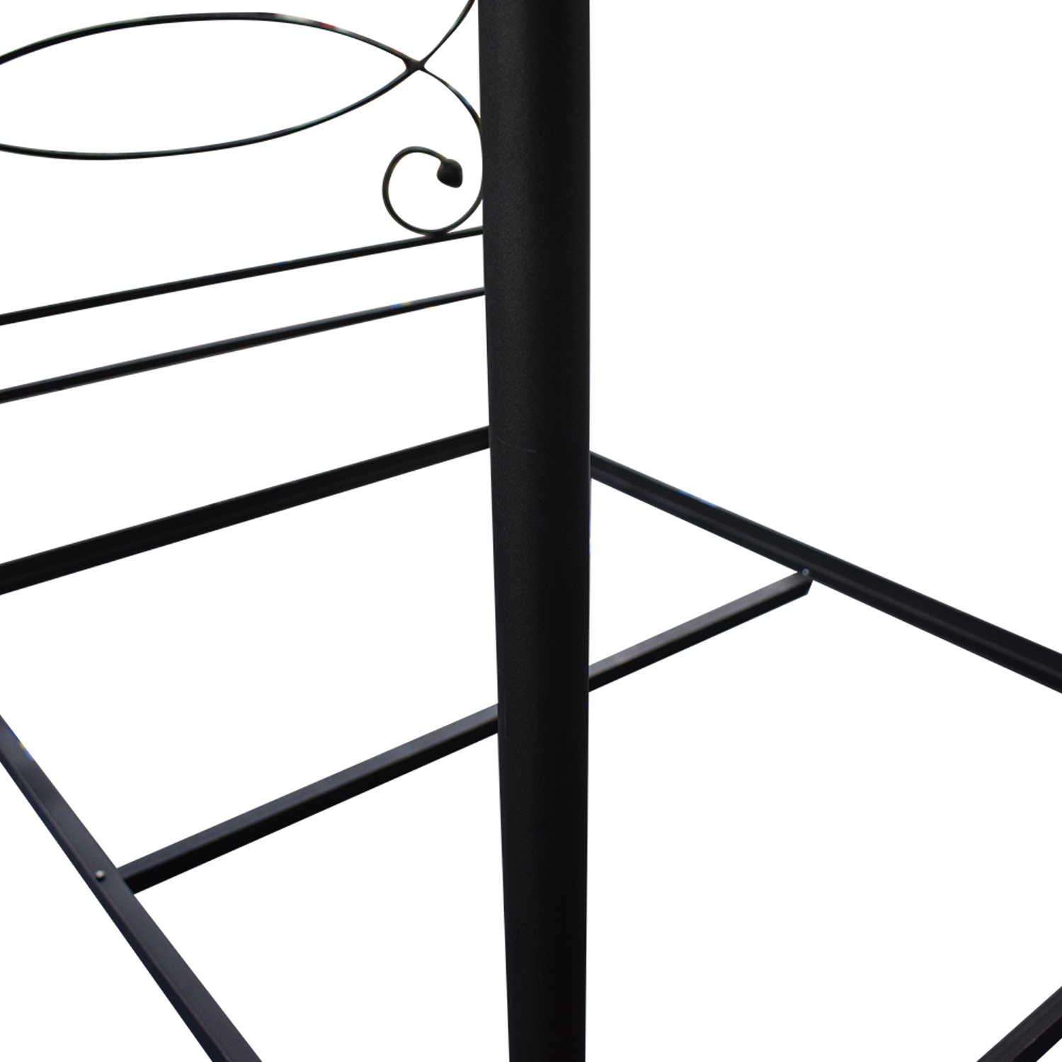 Charles P. Rogers Charles P. Rogers Iron Queen Canopy Bed Frame for sale
