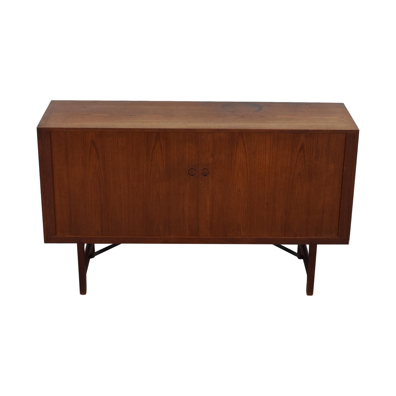 buy ABC Carpet & Home Danish Wood Two-Drawer Sideboard ABC Carpet & Home Storage