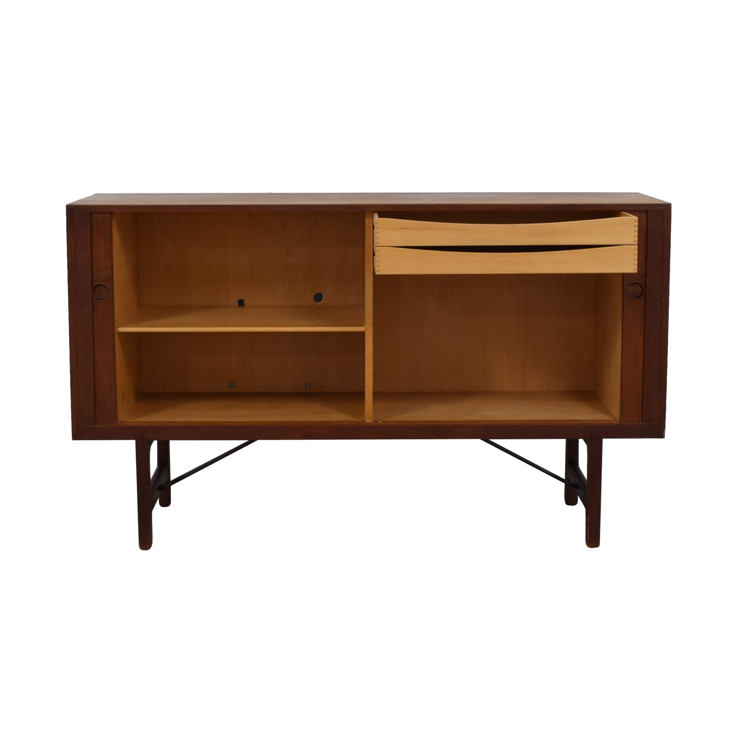 ABC Carpet & Home ABC Carpet & Home Danish Wood Two-Drawer Sideboard discount