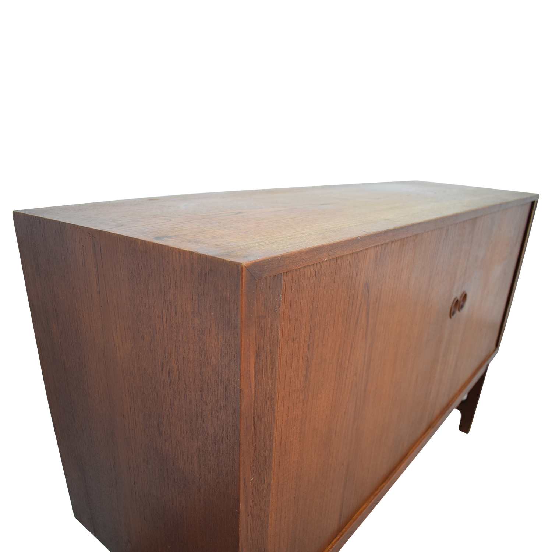 ABC Carpet & Home ABC Carpet & Home Danish Wood Two-Drawer Sideboard nj