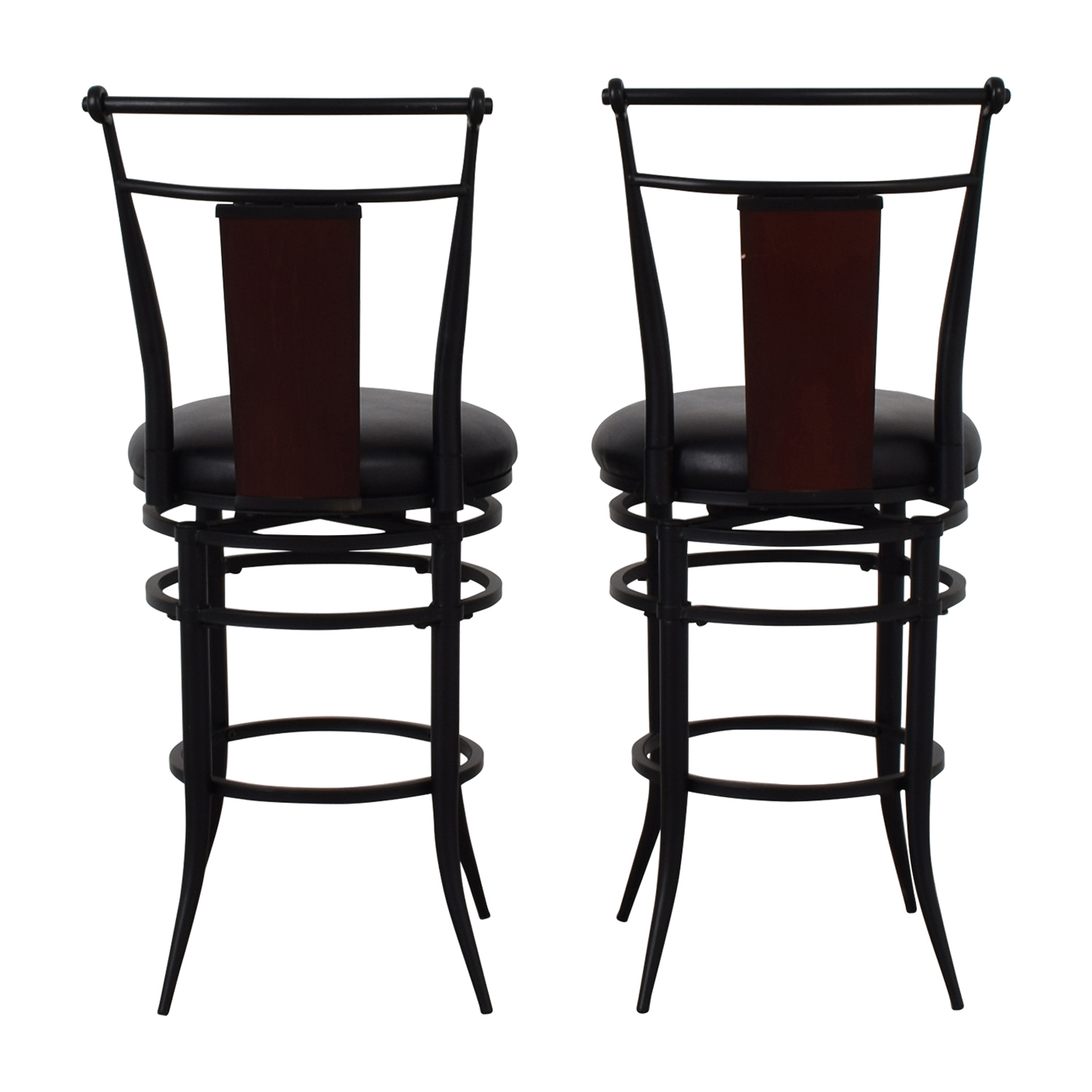 Hillsdale Furniture Hillsdale Furniture Midtown Black Swivel Counter Stools Stools