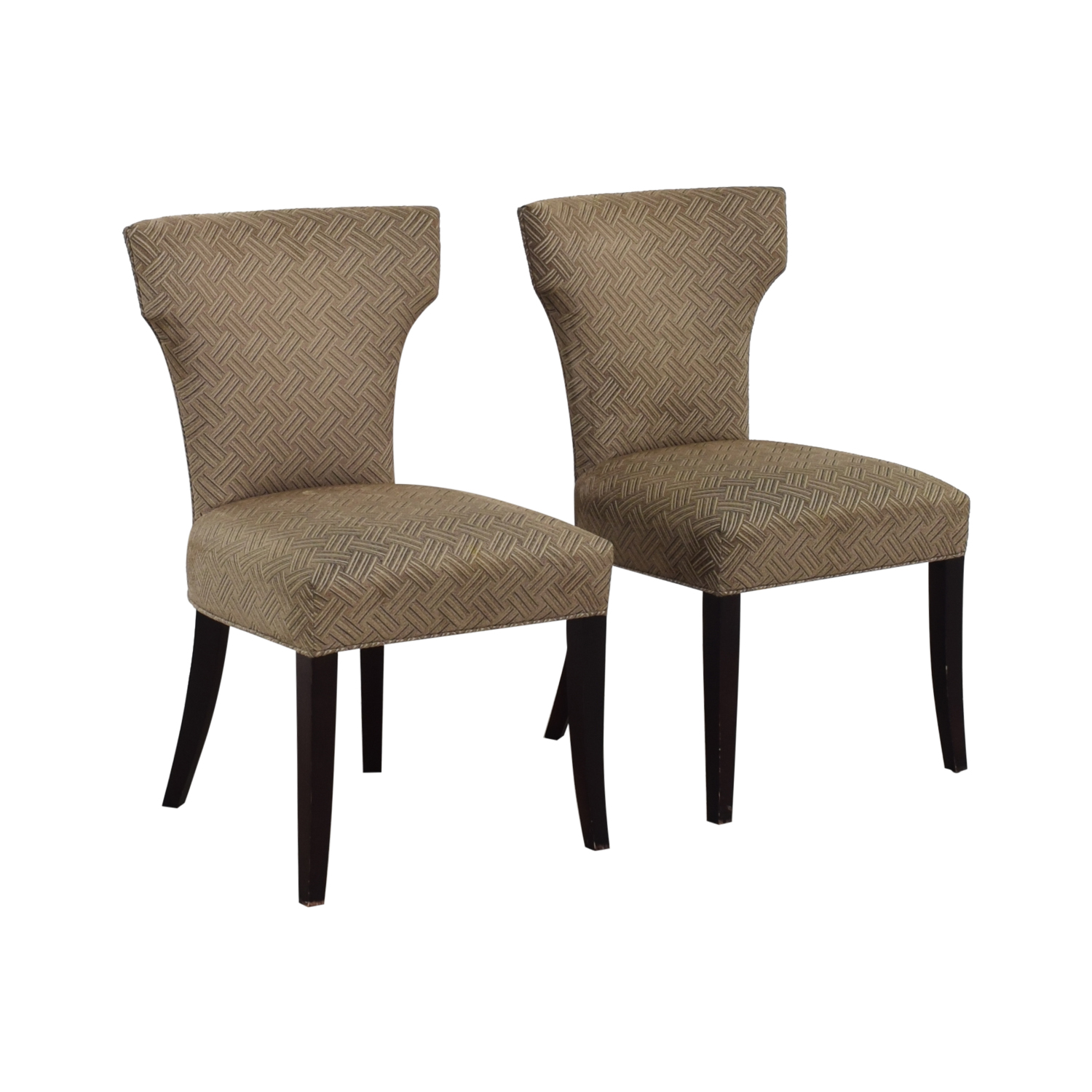 Crate & Barrel Crate & Barrel Sasha Upholstered Dining Chairs Chairs