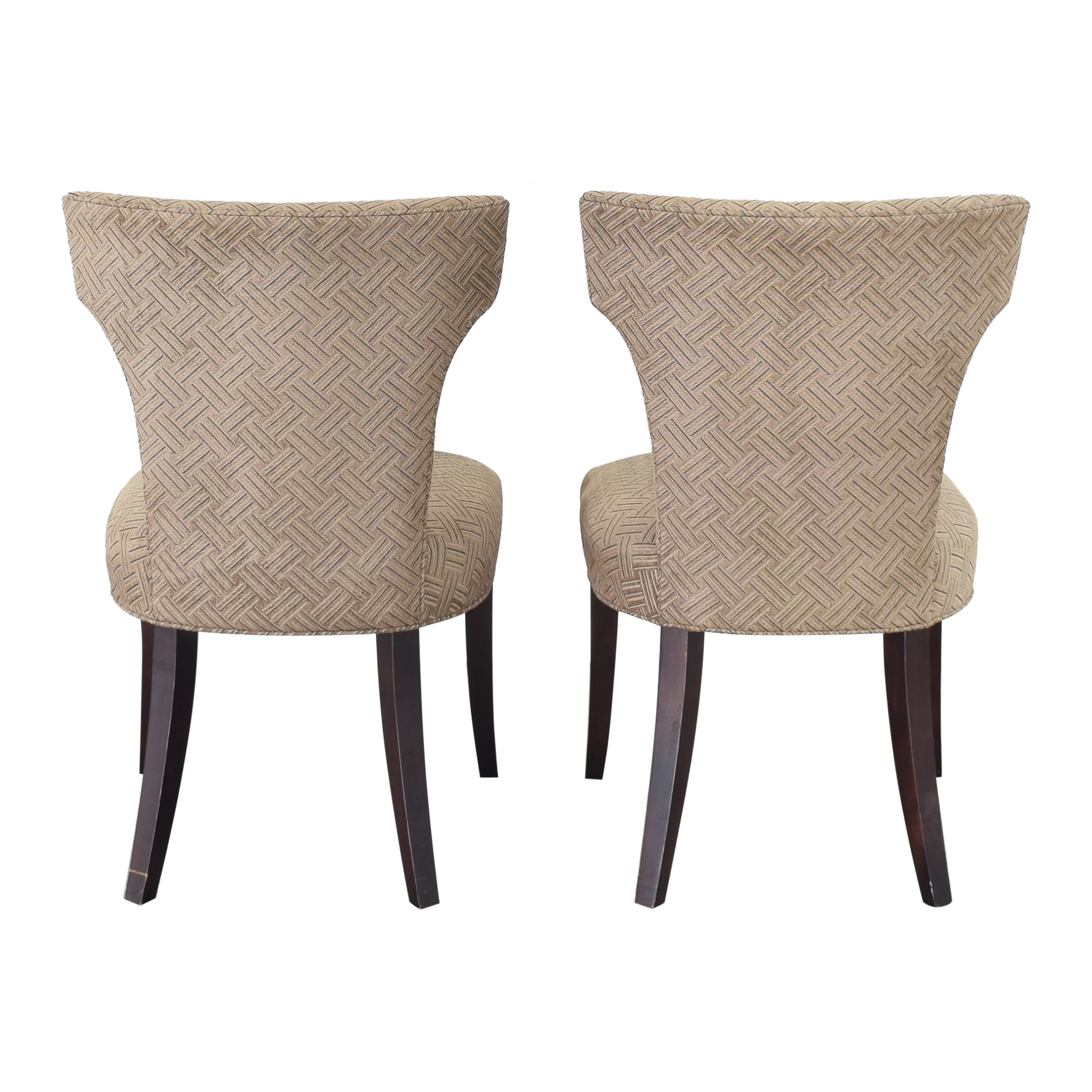 Crate & Barrel Crate & Barrel Sasha Upholstered Dining Chairs price