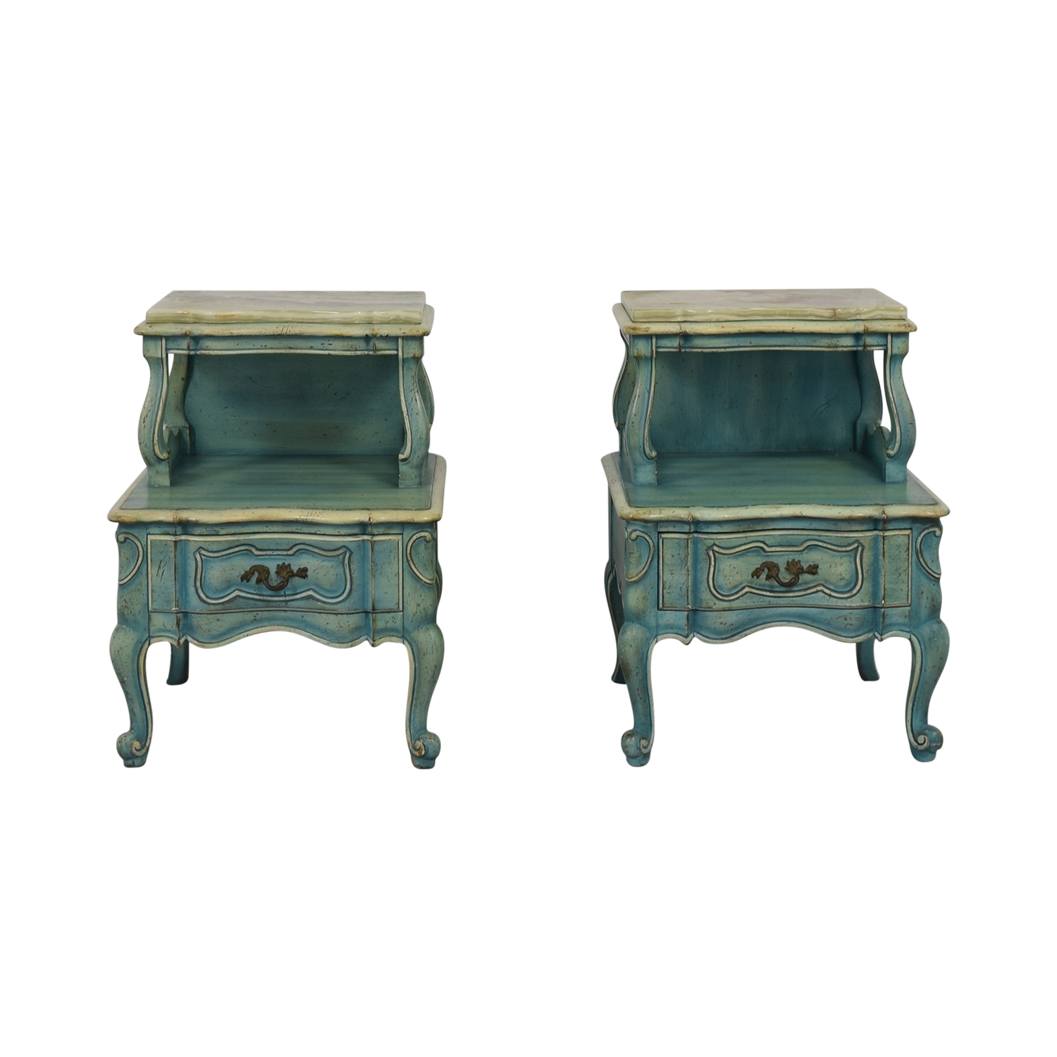 French Blue Single Drawer Night Tables coupon