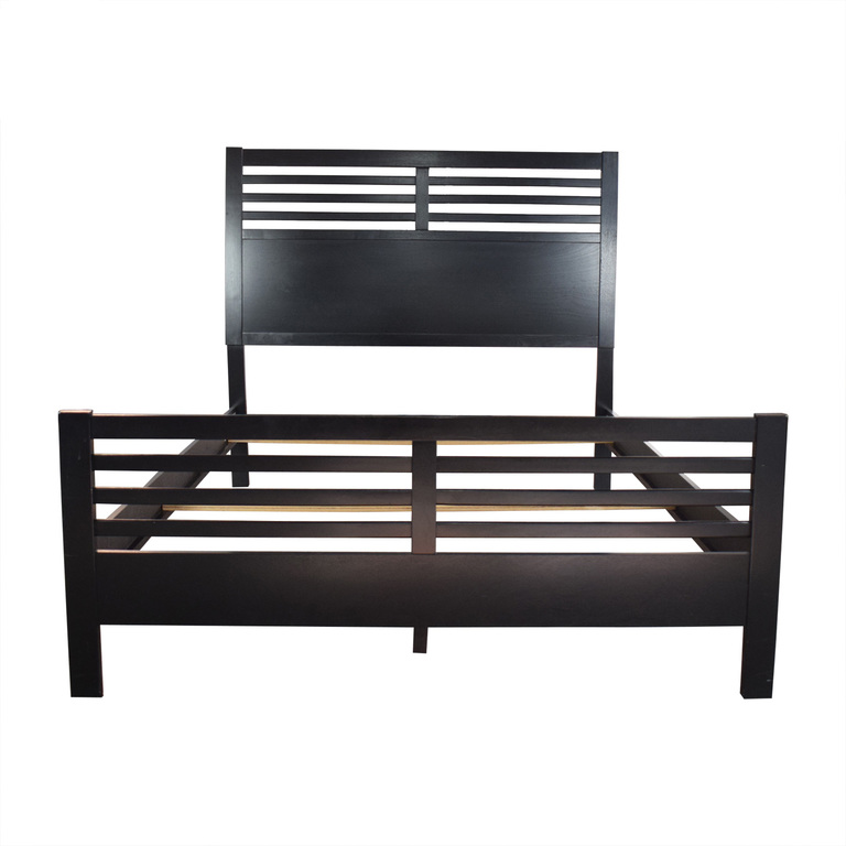 shop Coaster Coaster Black Modern Queen Bed Frame online