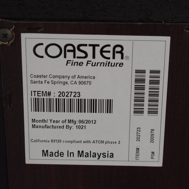 shop Coaster Black Four-Drawer Dresser Coaster Storage