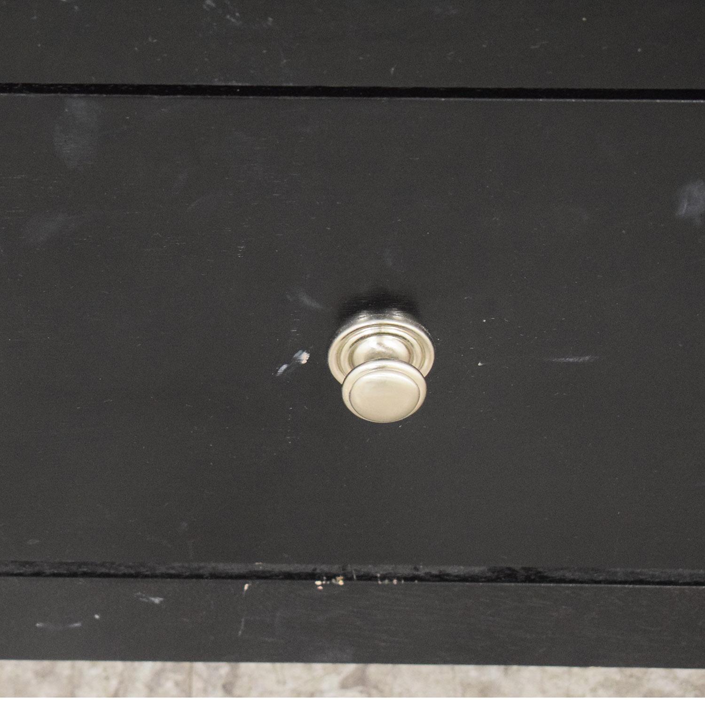Coaster Black Four-Drawer Dresser / Dressers