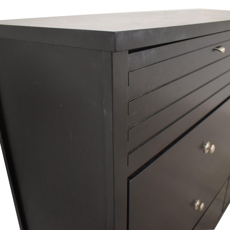 Coaster Coaster Black Four-Drawer Dresser second hand