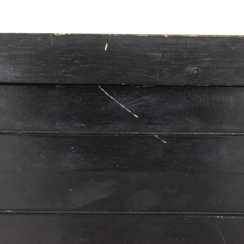 shop Coaster Black Four-Drawer Dresser Coaster