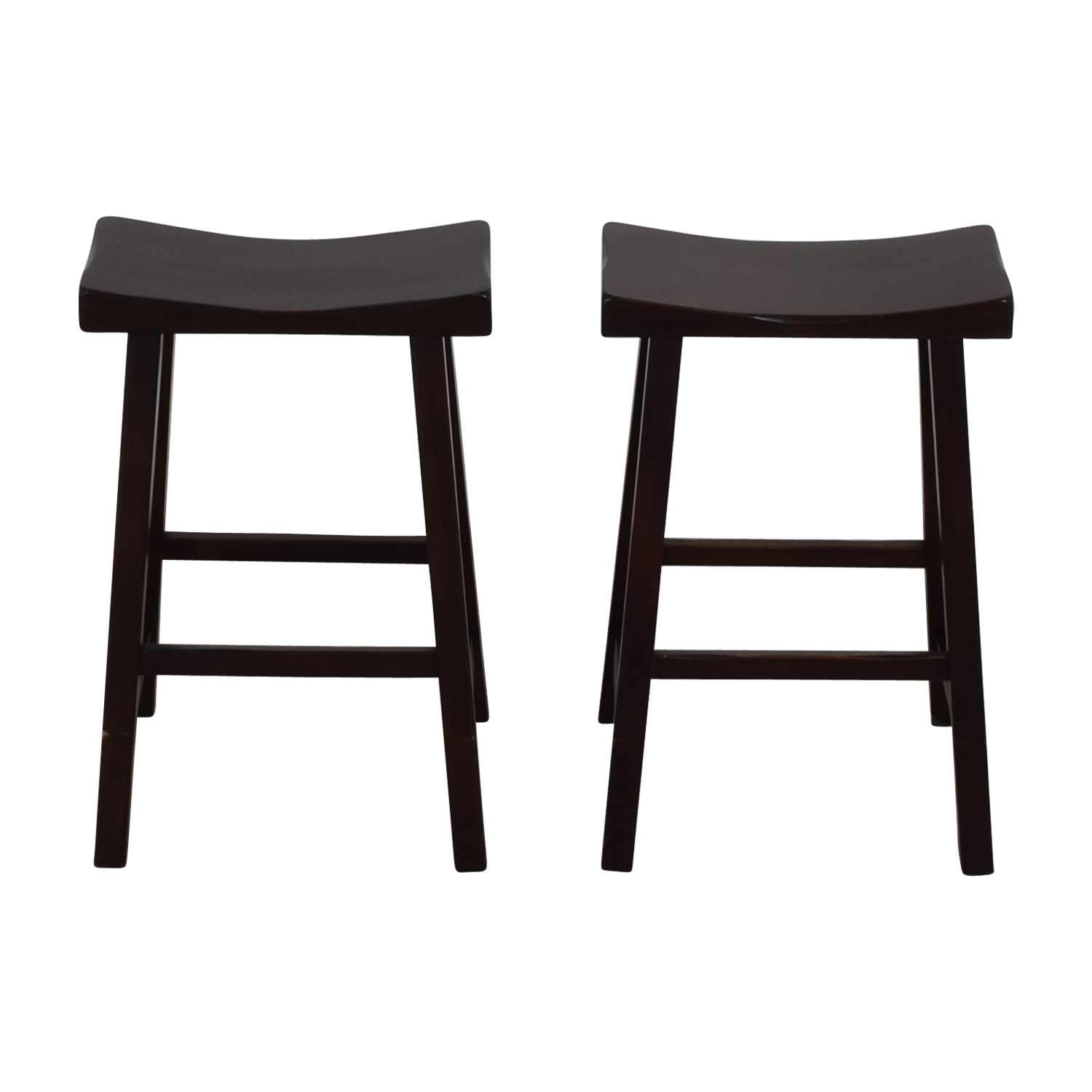 shop Dark Oak Counter Stools