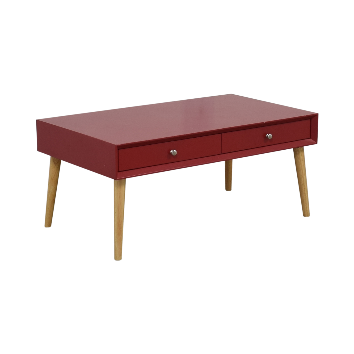 Awe Inspiring 53 Off Wayfair Wayfair Red Two Drawer Coffee Table Tables Uwap Interior Chair Design Uwaporg