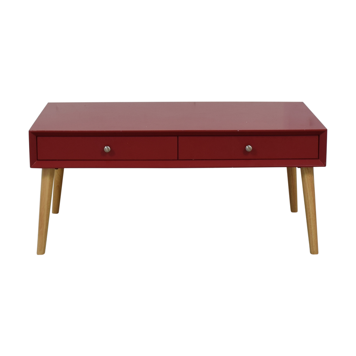 Wayfair Wayfair Red Two-Drawer Coffee Table Tables