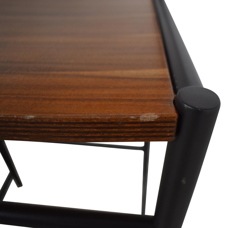 buy West Elm Rustic Wood Bar Stools West Elm Chairs