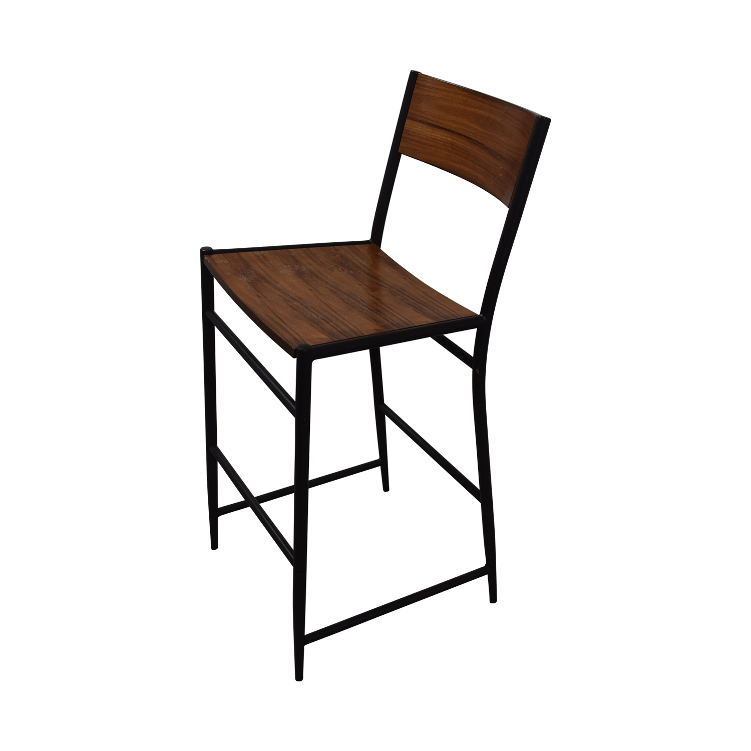 Counter Stools West Elm: West Elm West Elm Rustic Wood Bar Stools / Chairs