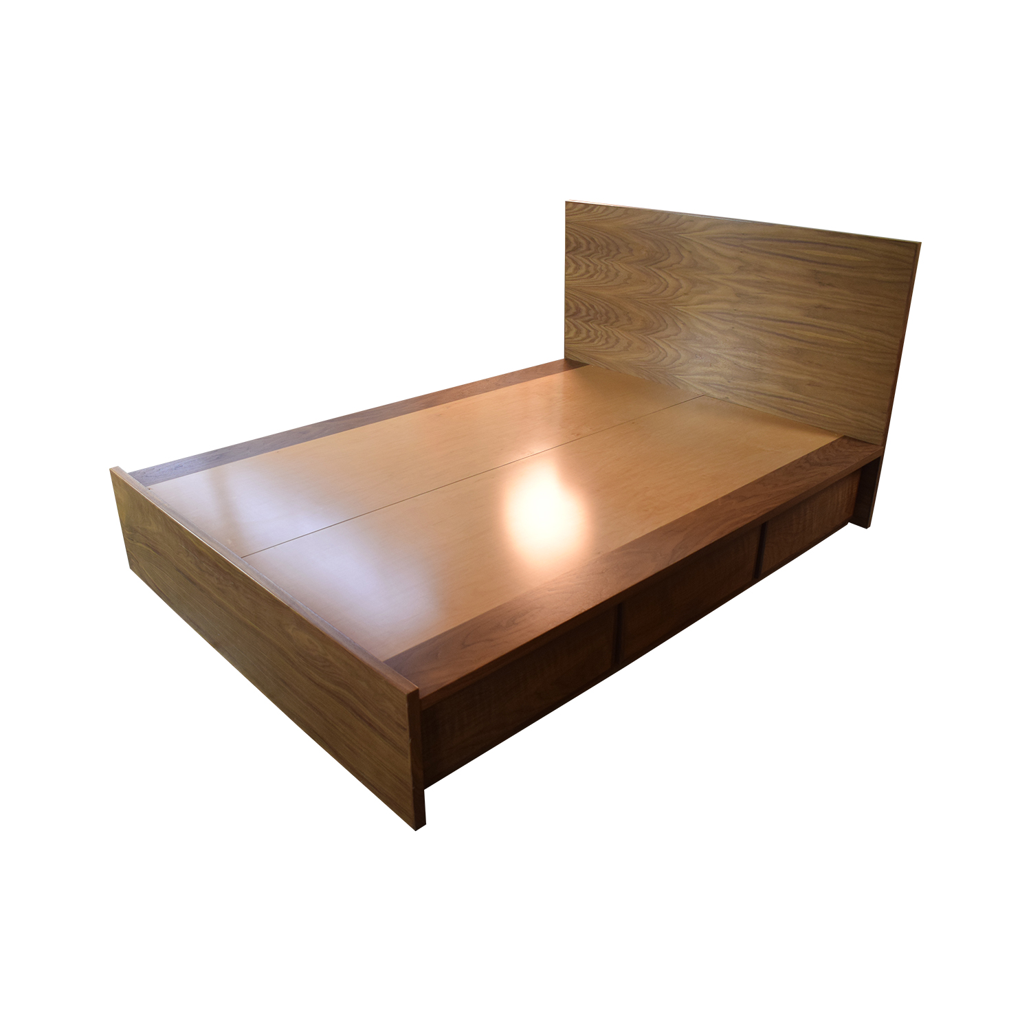 Urbangreen Furniture Urbangreen Furniture Thompson Queen Storage Bed Six Drawer with Headboard nj