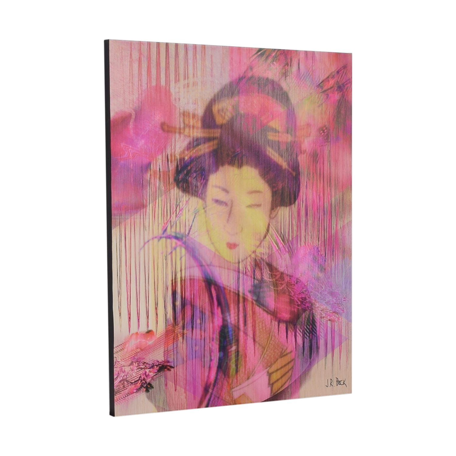 J R Beck Glycee Geisha Painting for sale