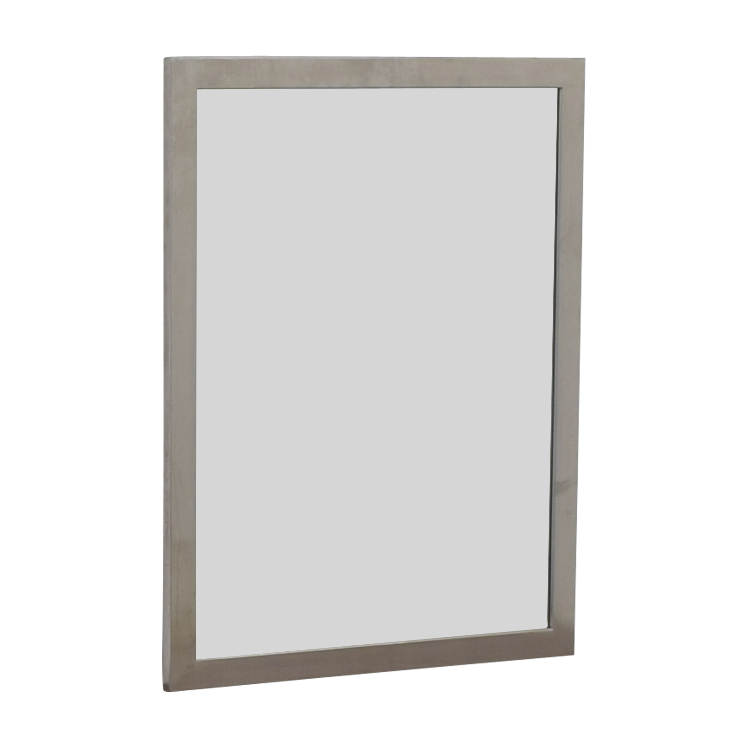 Silver Framed Wall Mirror discount