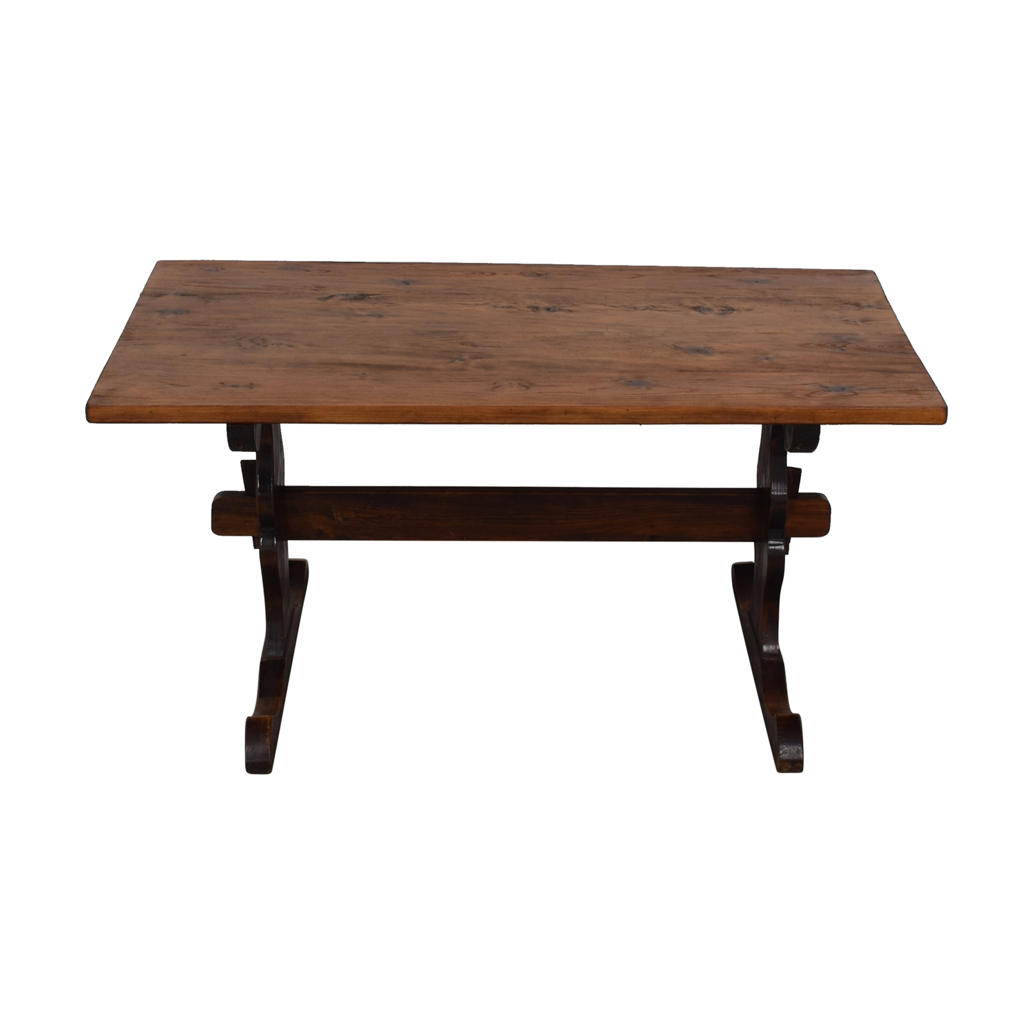 South African Pine Dining Room Table nj