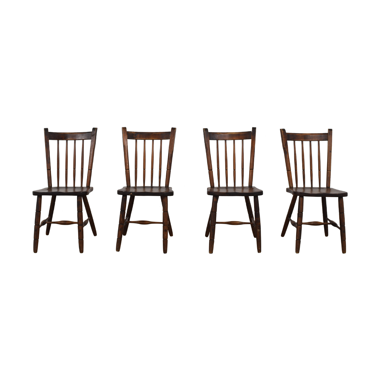 Authentic South African Pine Dining Chairs dimensions