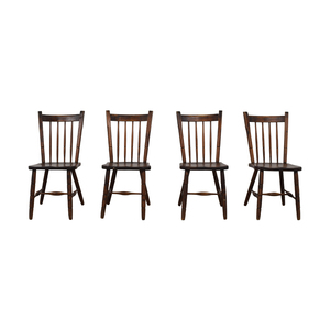 shop Authentic South African Pine Dining Chairs