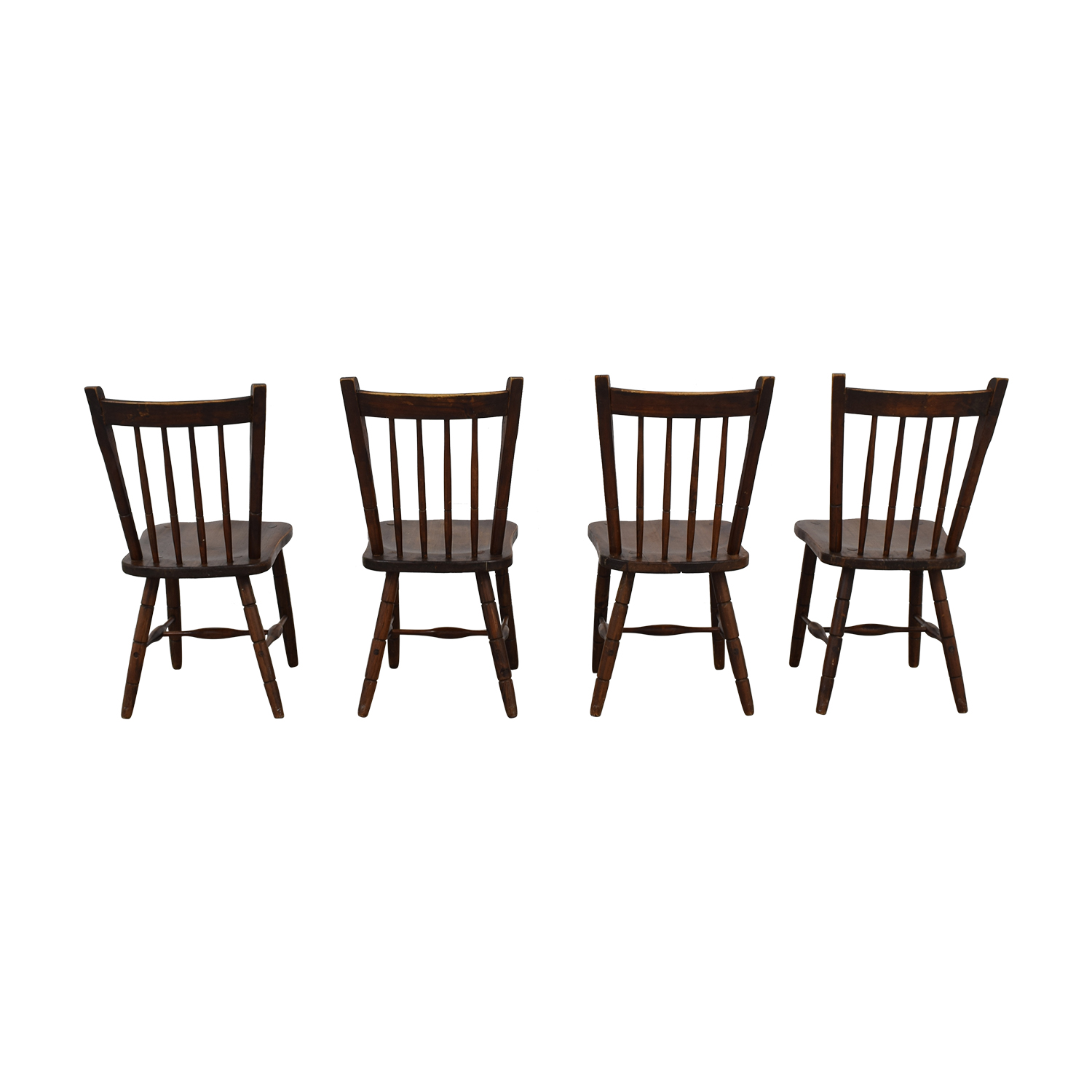 Authentic South African Pine Dining Chairs used