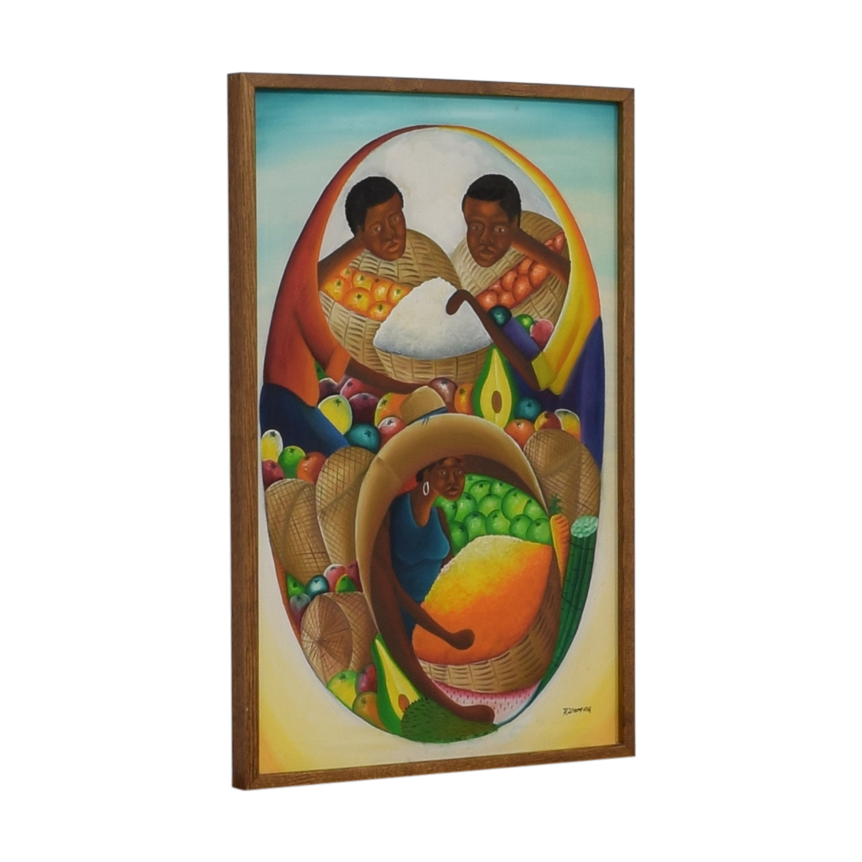 Haitian Oil Painting sale