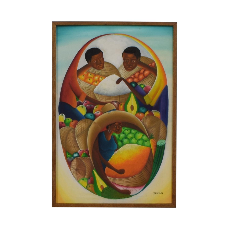 buy Haitian Oil Painting  Wall Art