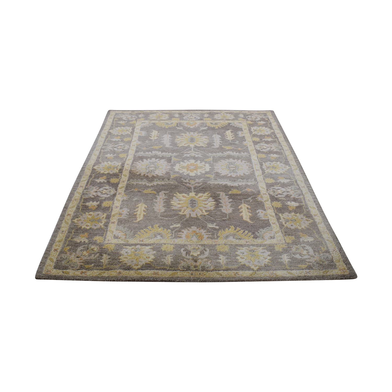 Pottery Barn Hastings Beige Persian Style Rug sale