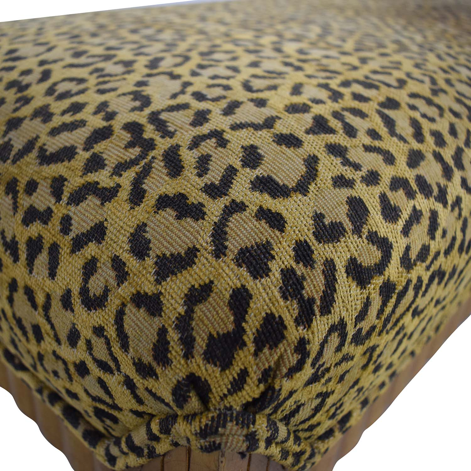 Furniture Masters Leopard Print Bench / Chairs