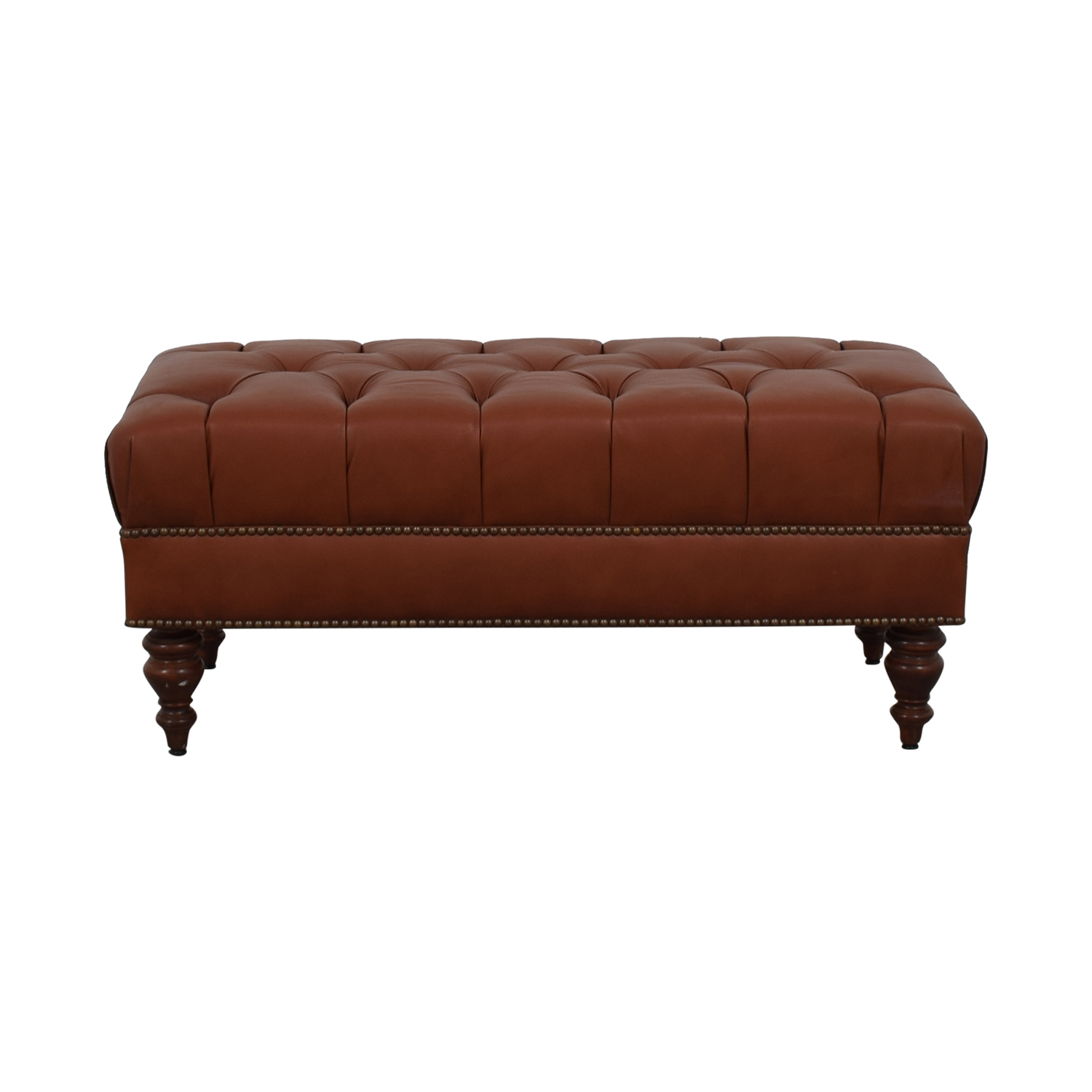 Furniture Masters Furniture Masters Tufted Ottoman used
