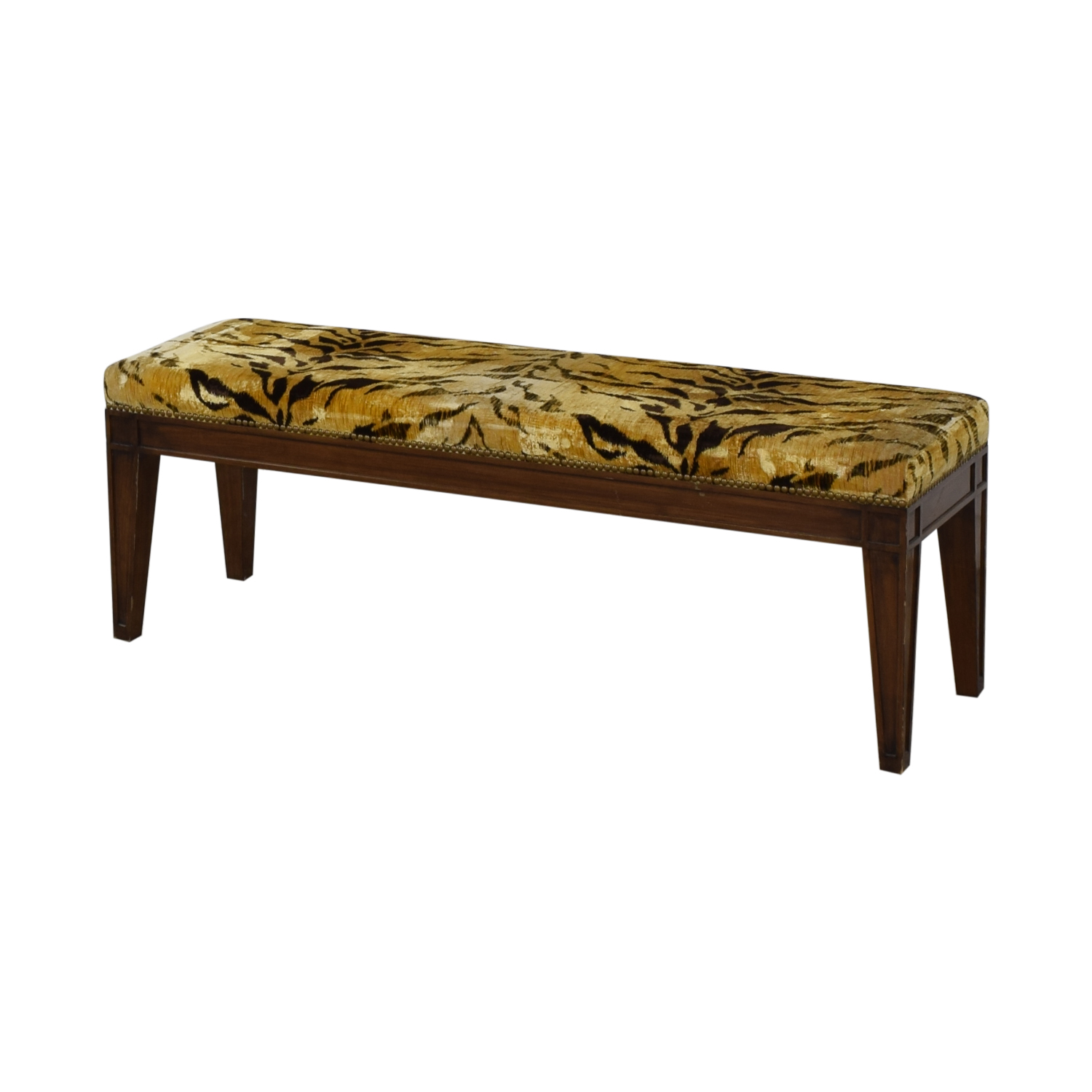 Furniture Masters Tiger Print Ottoman / Chairs
