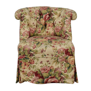 Furniture Masters Floral Accent Chair sale