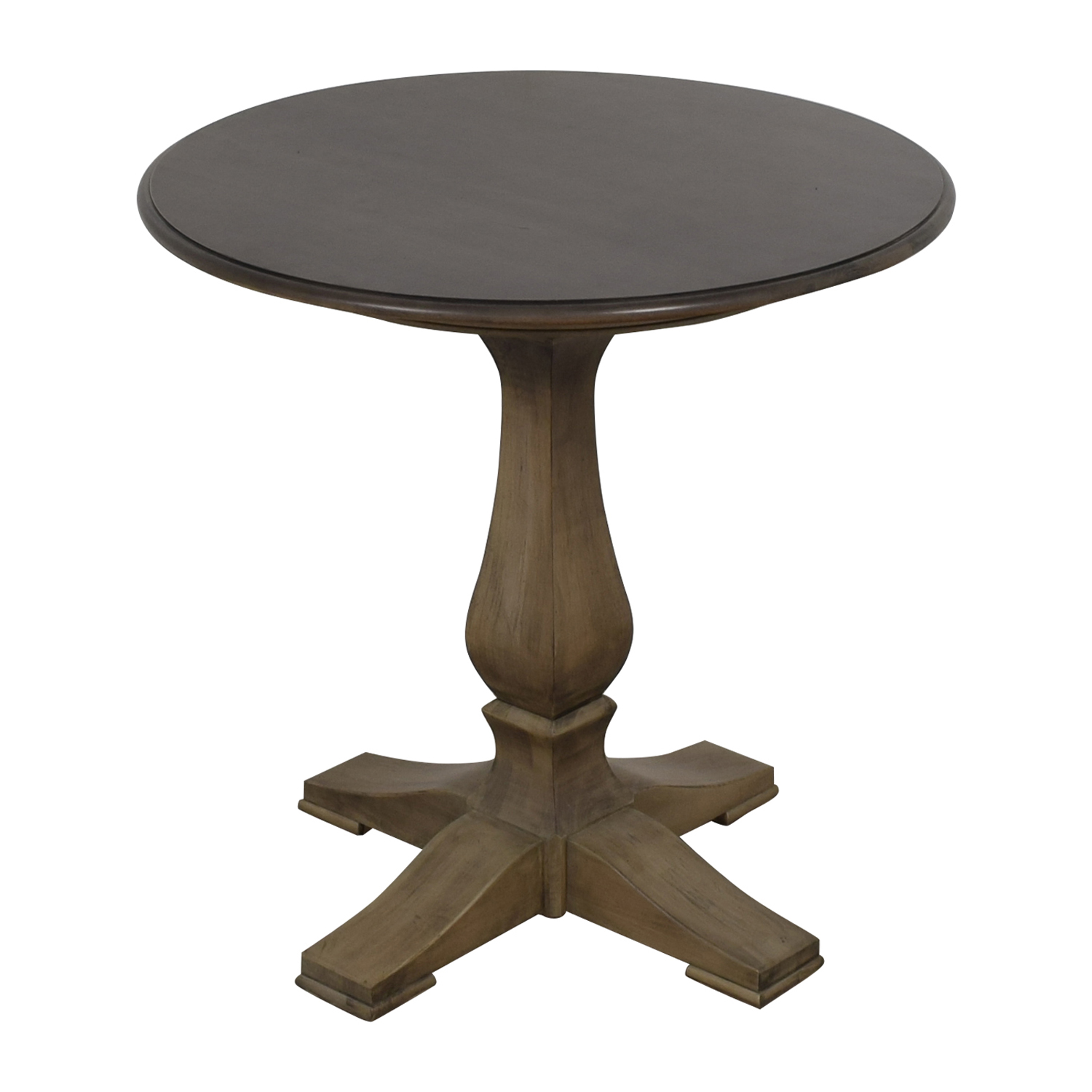 Used Ethan Allen Coffee Tables: Ethan Allen Ethan Allen Round Bistro Table / Tables