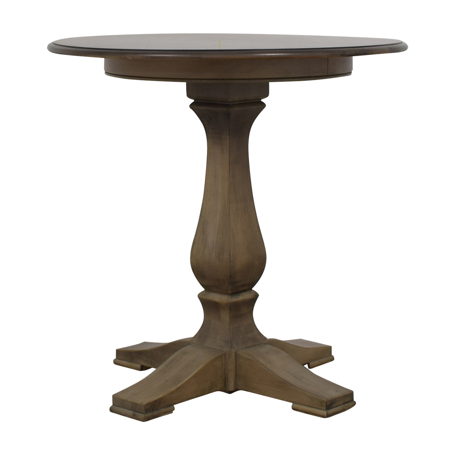 82 Off Ethan Allen Ethan Allen Round Bistro Table Tables