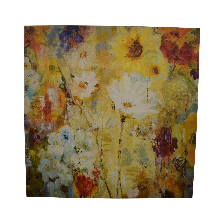 shop Floral Canvas Painting  Decor