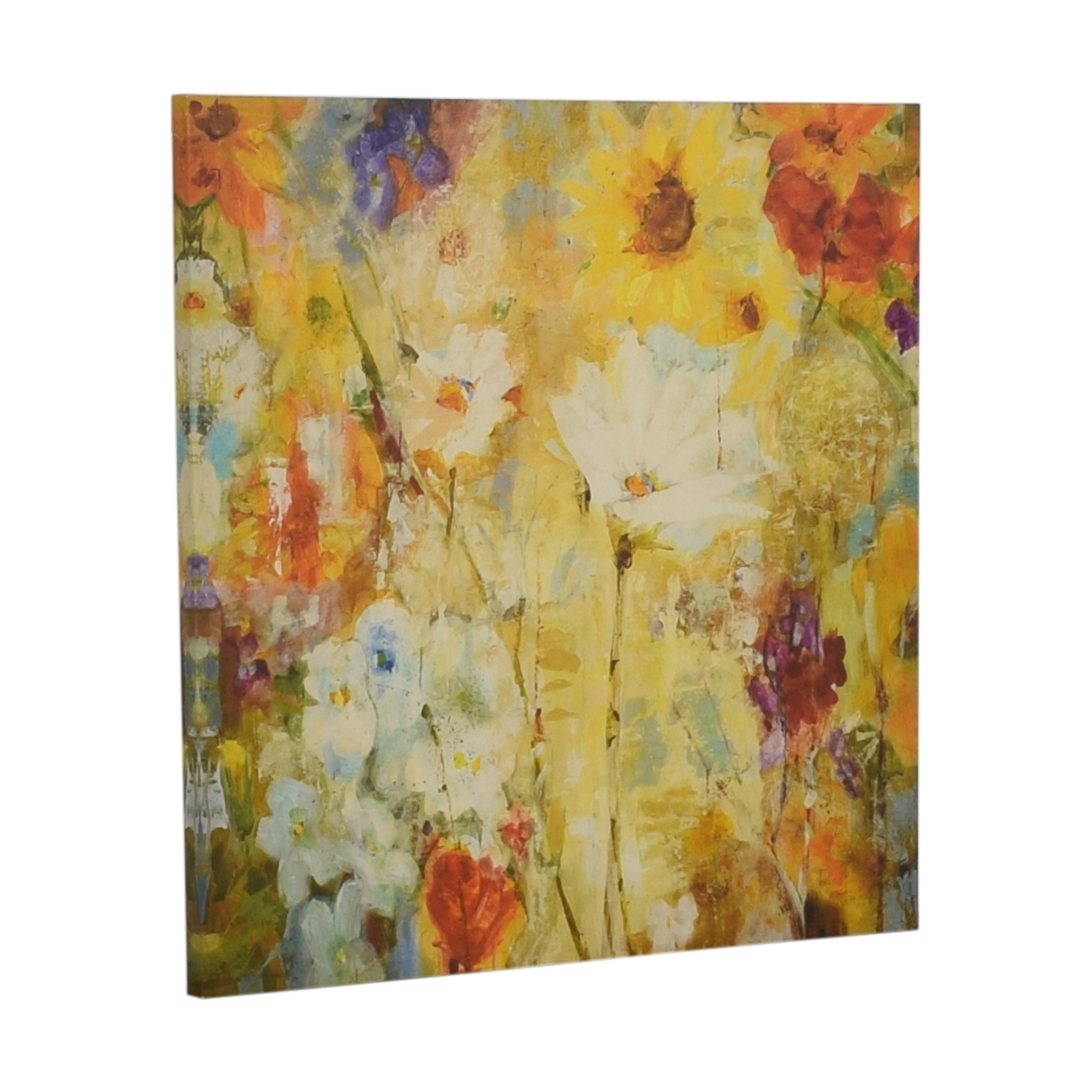 Floral Canvas Painting Sofas