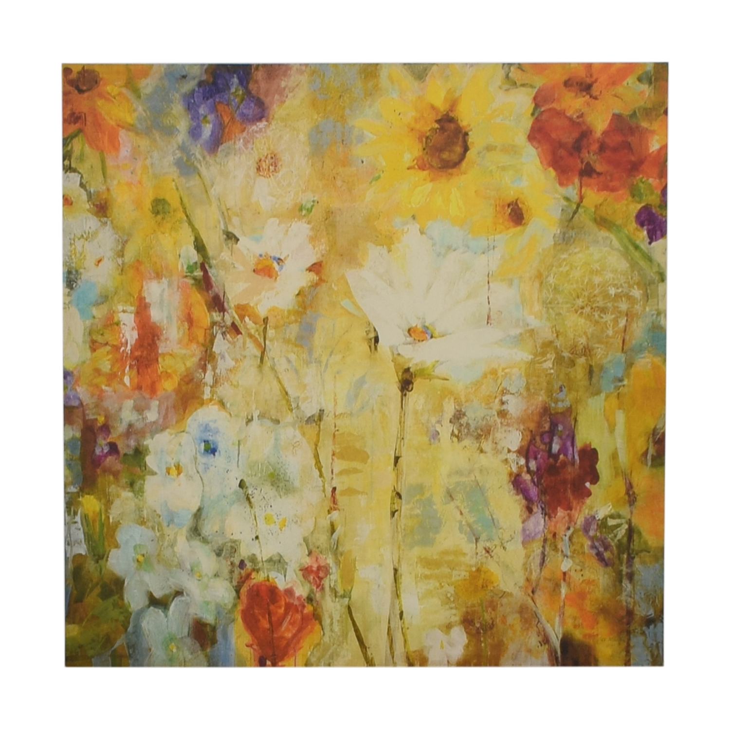 Floral Canvas Painting