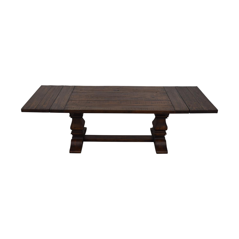 Trestle Extension Dining Table: Restoration Hardware Restoration Hardware