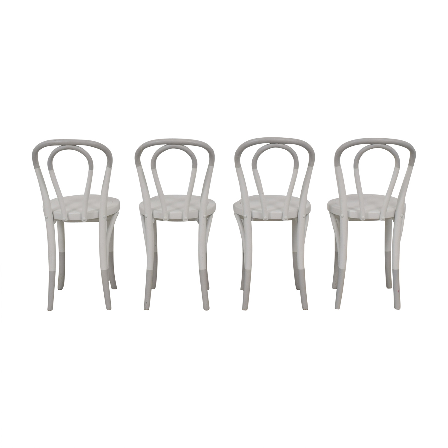 Restoration Hardware Restoration Hardware White Bentwood Chairs price