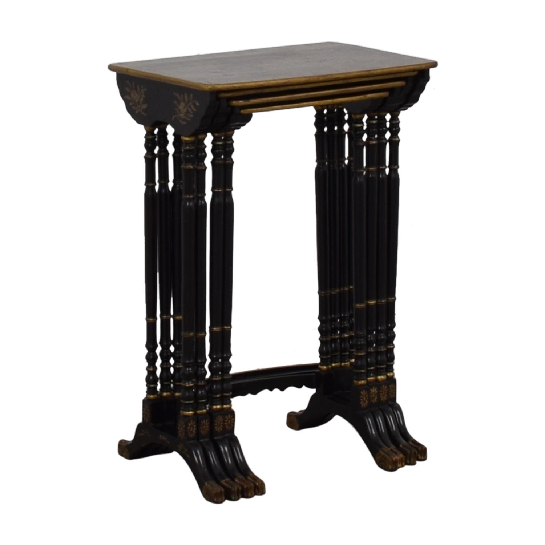 Antique Asian Nesting Tables nj