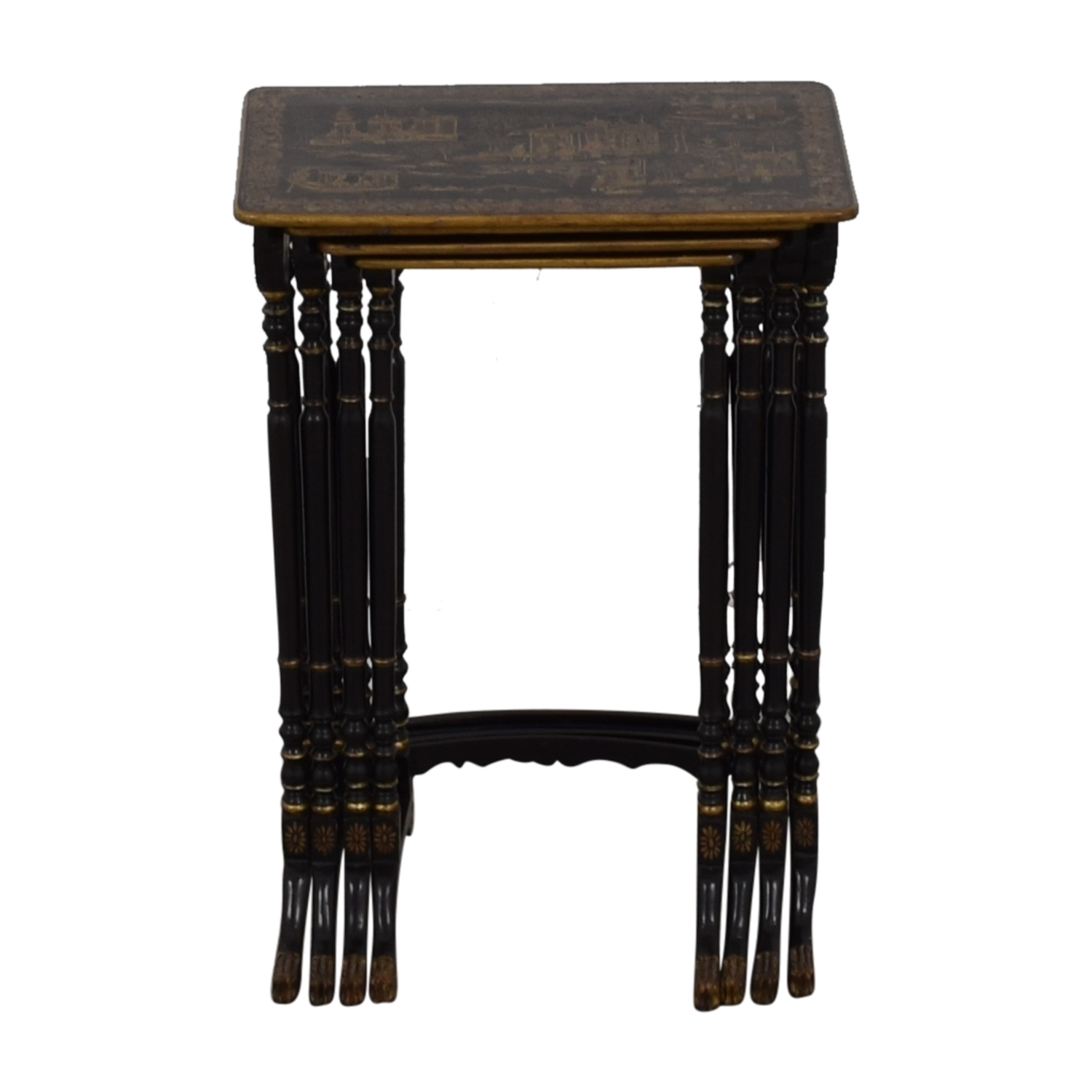 Antique Asian Nesting Tables
